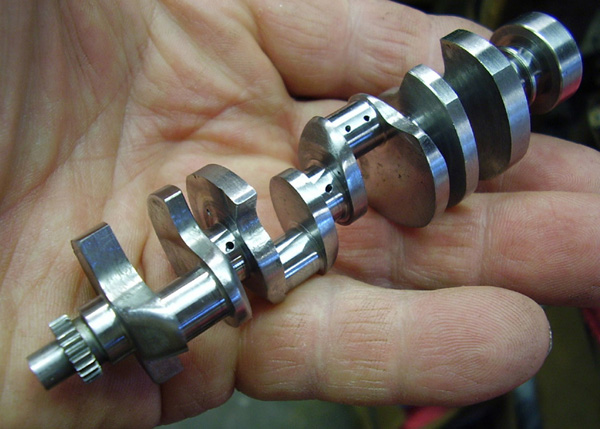 Jim Moyer 1/6 scale 5-bearing crankshaft