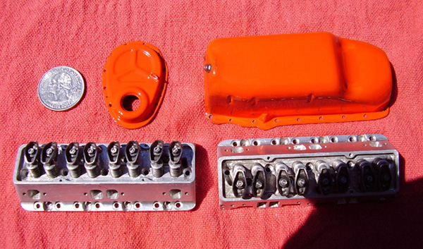 Jim Moyer 327 cylinder heads